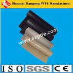 Black and brown color high temperature non adhensive ptfe fiberglass fabric