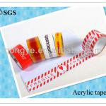 adhesive glue of colorful logo print packing tape