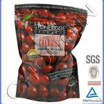 Printed aluminum laminated foil pouch for cherries