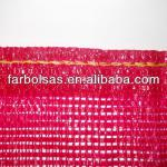 PE/PP RASCHEL MESH BAGS FOR PACKING POTATOES ONIONS