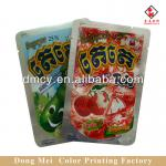 Food grade aluminum foil food packaging bag with tear notch