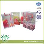 fruit clear pp 0.15mm bag,food packaging plastic bag,customized plastic carry bag