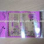 2011 Hot sales OPP Packaging bag with header