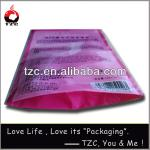 opp bag with adhesive strip