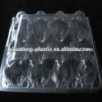 Customized clamshell plastic egg tray
