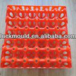 High quality hard plastic egg trays