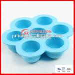 Large Blue Custom Silicone Egg Tray For Sale