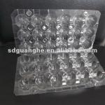 18 holes disposable plastic quail egg tray