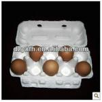egg tray paper pulp tray 10 eggs holes white color