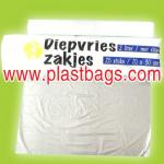 HDPE high density plastic flat Bags For food