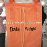 Anti-UV treated pure material PP container bag