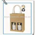 environmental food packaging paper packing bags with window