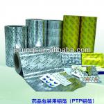PTP Alu Foil / medical packing aluminium foil for Blister Medical Packing pill blister packs