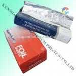 Food packaging Silver pop-up aluminum foil sheet