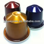 Aluminum foils sealing lids for coffee capsules cups