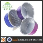 New style multifunctional divided aluminium foil container lip
