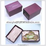 Luxury fancy cardboard paper packaging neck tie box wholesale