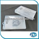 Transparent plastic box, eco-friendly material, Customized Printings are Accepted