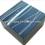 High quality custom made-in-china matte lacquered wooden tie box for men (ZDS-SE203)