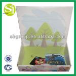 Colorful custom toy card packaging box