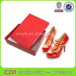 Red shoe box,glossy custom shoe box,for exporter wholesale shoe box