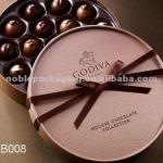 Luxury chocolate box with corss ribbon