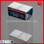 Soft crease and auto buttom plastic packaging box