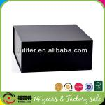 wholesale magnetic china decorative rectangular black cardboard shoe boxes china supplier