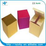 fashion and beautiful gift paper packaging box hot sale