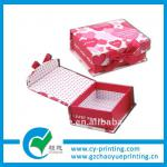 Good quality specailty paper shoe box packaging