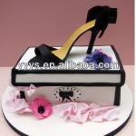 decorative high-heeled shoe box for sale