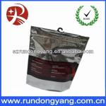 Bottom sealing jean stand up zip lock Clothes bags