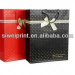 Custom paper bag price from factory