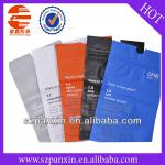 heat seal zippered plastic packing bags for clothes