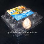 Clear egg tray pack