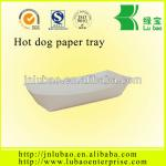 2014 new disposable paper right angle tray for food