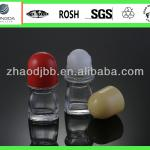 Glass perfume deodorant roll on bottles with roll on balls