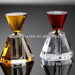 New Style Crystal Perfume Bottle Glass Body Scent Bottle