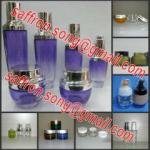 30ml 50ml Glass cosmetic jar with cap