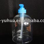 500ml clear plastic hand soap pet bottle ,hand wish bottle