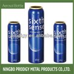 S-Cobalt Blue Aluminum Aerosol Bottle for Mousse Packing
