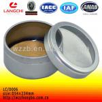Fragrance can for scent pieces packing with clear window