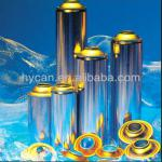 Gas Lighter Aerosol Can With 4 color printing