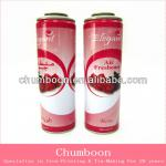 air freshener cans with corrosion resistance at different size
