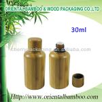 empty serum lotion bottle cosmetic packaging essential oil bottle glass bottle inside OEM