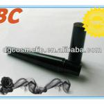 Black custom cosmetic tubes packaging of Mascara