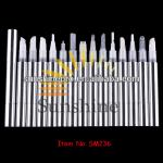 SM236---2ml aluminum shell cosmetic pen, empty twist pen tube