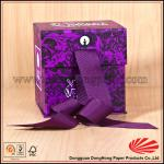Serial Body Powder Paper Packaging Box with Ribbon