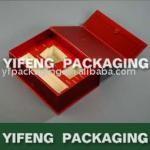 delicate book shape cosmetic packaging box