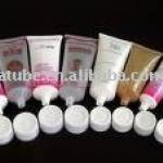 cosmetic hand and foot cream tube